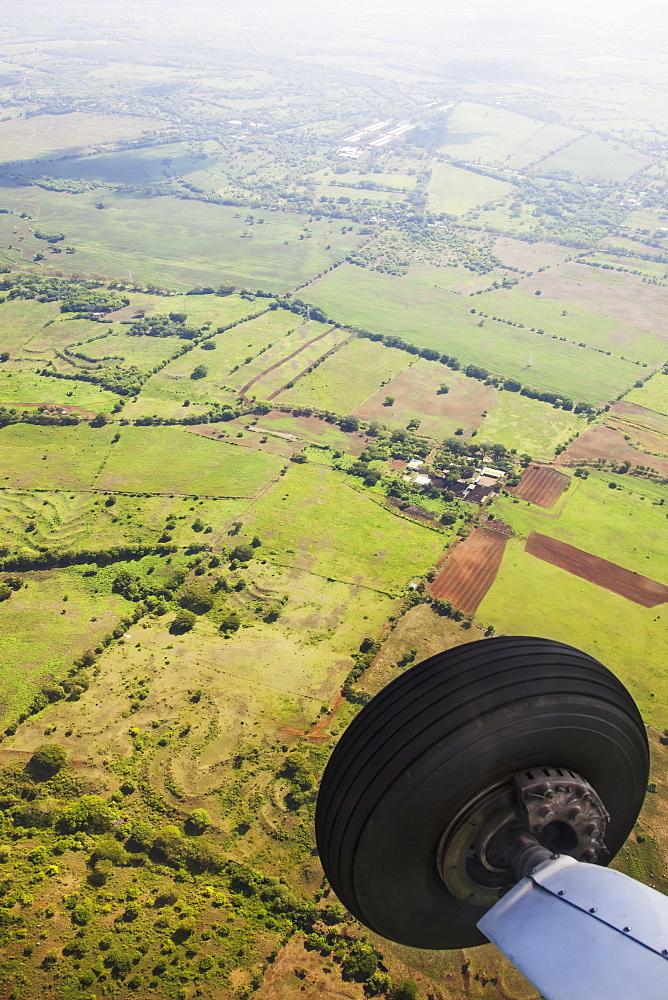 Aerial View Of Landscape Near Managua, Nicaragua