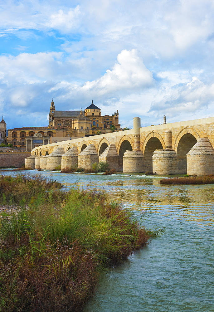 Roman Bridge Of Cordoba, Cordoba, Andalusia, Spain