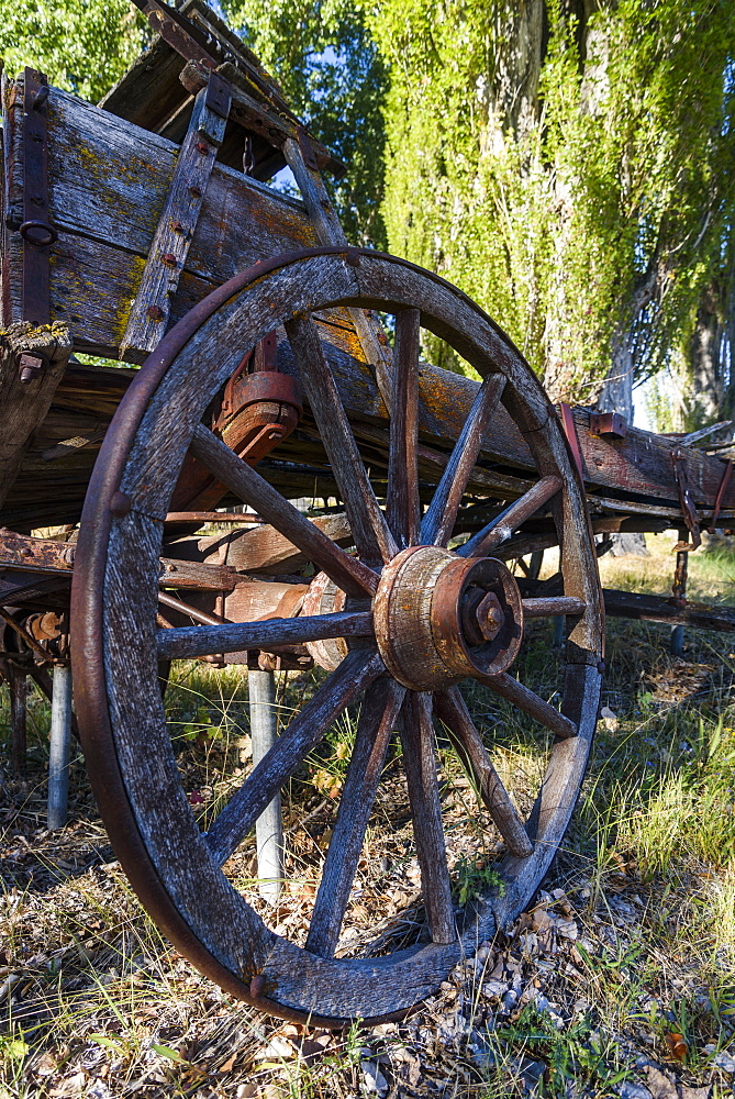 Old Relics From The Past Remain In Eastern Oregon, Frenchglen, Oregon, United States Of America