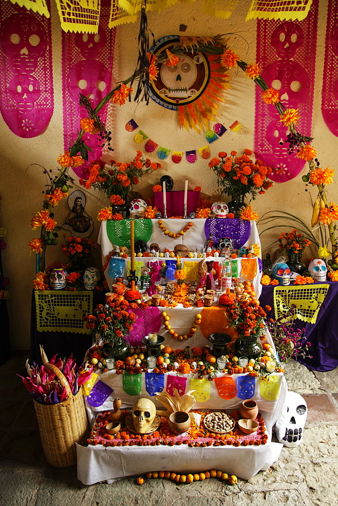Day Of The Dead Celebrations, Oaxaca, Mexico
