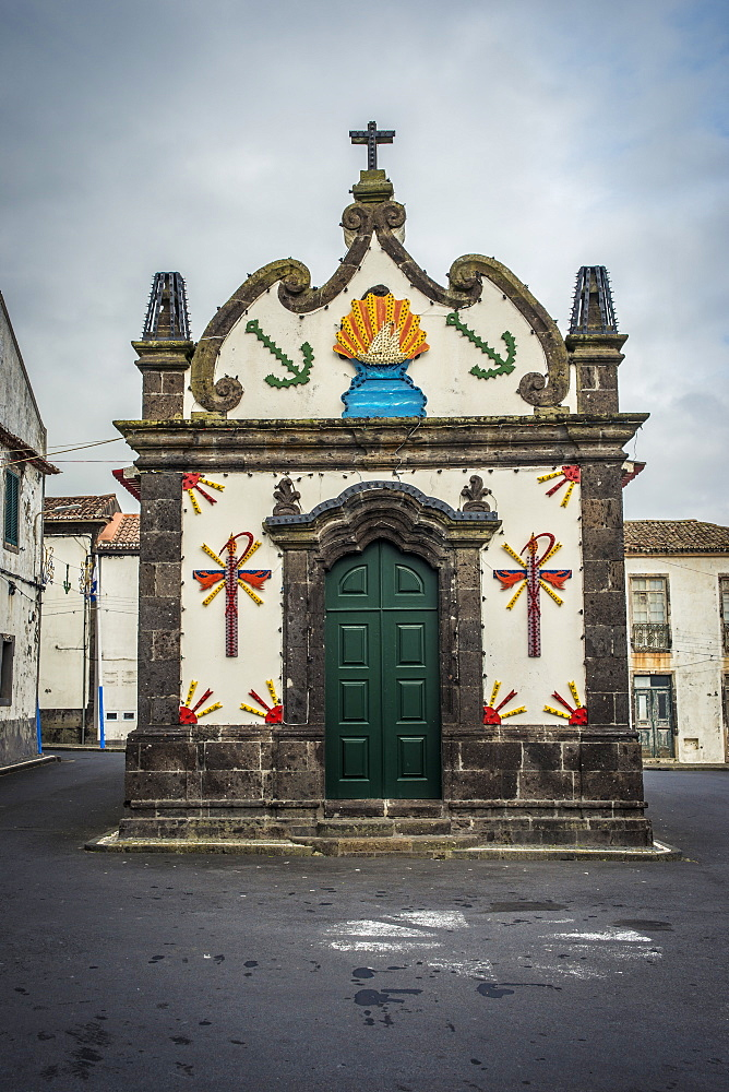 Small Fishermen's Church, Vila Franca Do Campo, Sao Miguel, Azores, Portugal