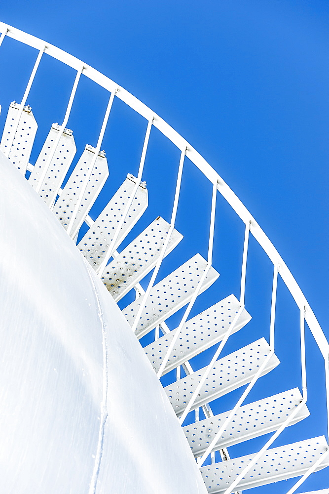 Stairs In The Blue Sky, Turner Valley, Alberta, Canada