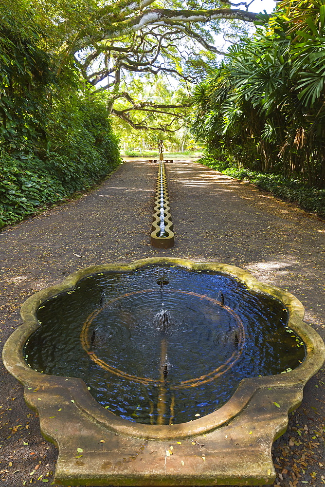 Mermaid Room In Allerton Garden, Part Of National Botanical Garden Near Poipu, Kauai, Hawaii, United States Of America