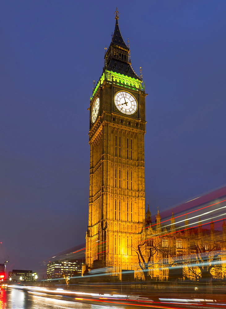 Big Ben At Dusk, London, England