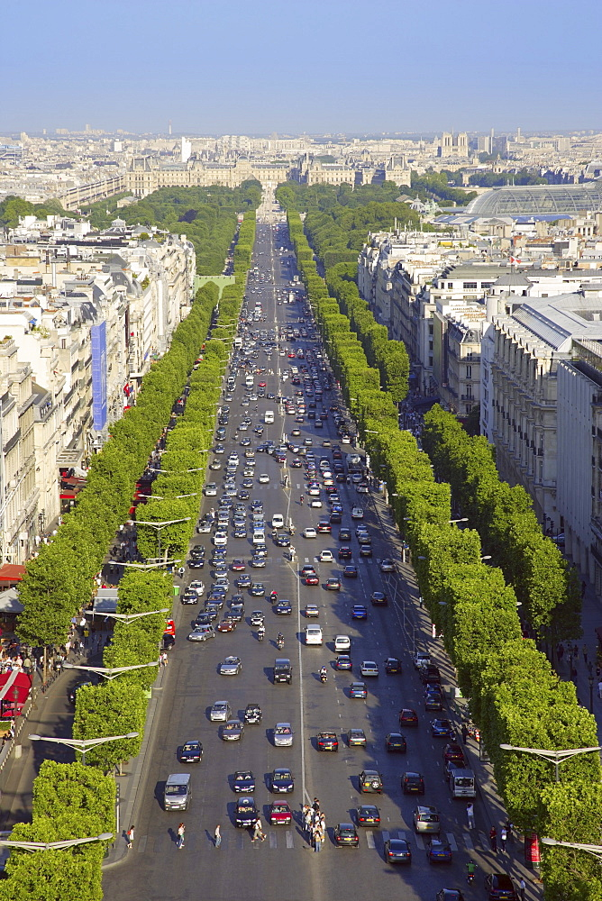 View From The Champs Elysees