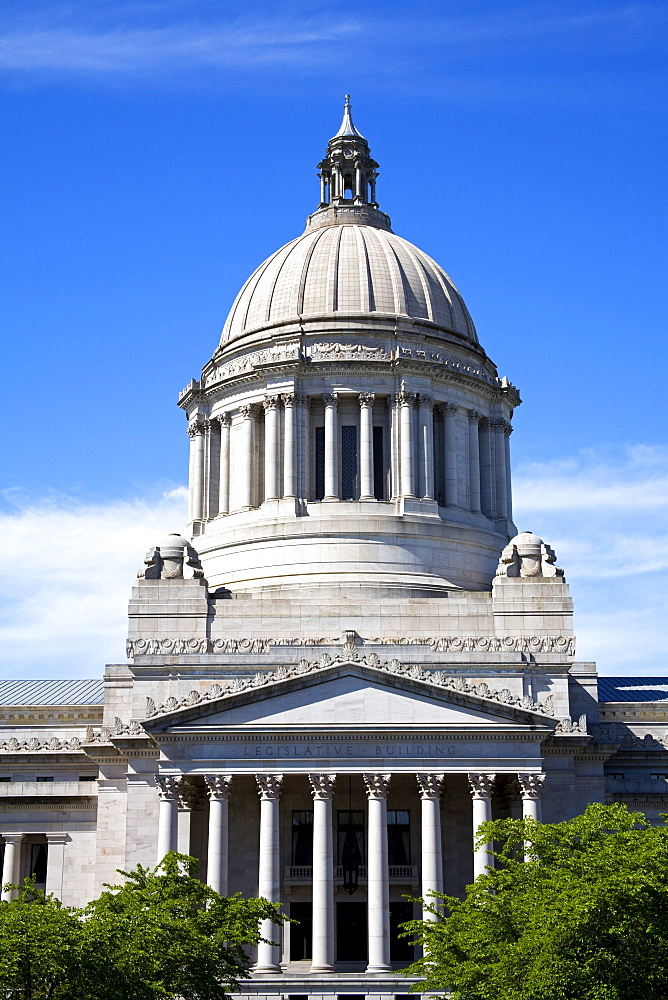 Olympia, Washington State, Usa; State Capital Building