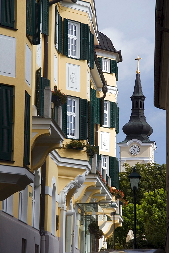 Building With Green Shutters, Austria