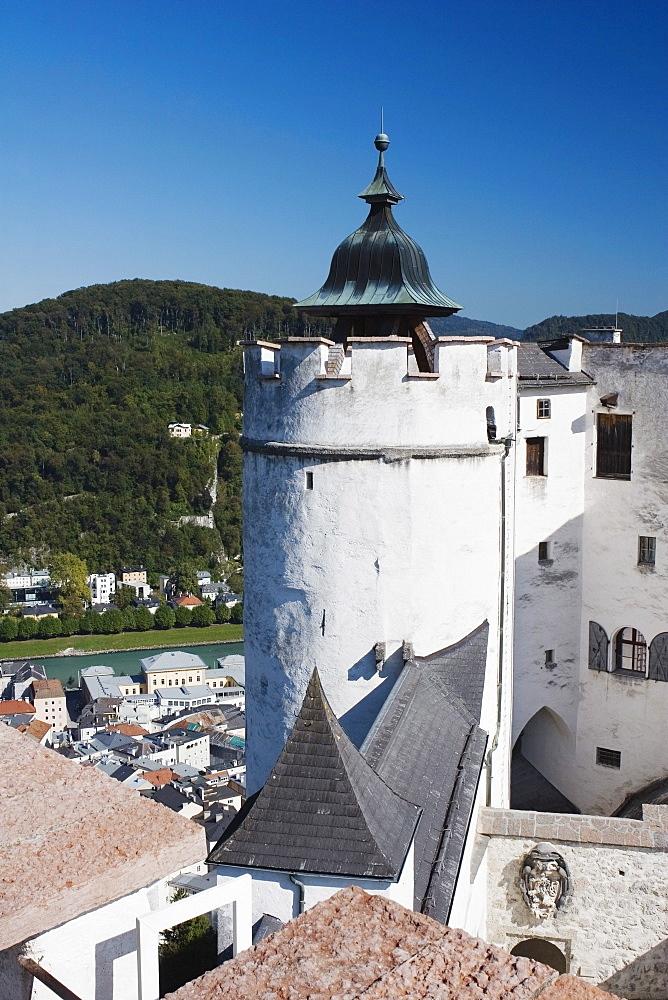 Fortress Turret, Salzburg, Salzburger Land, Austria