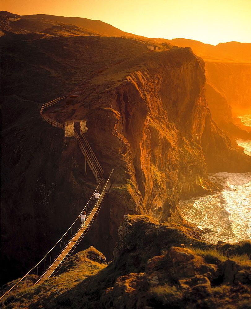Carrick-A-Rede Rope Bridge, County Antrim, Ireland