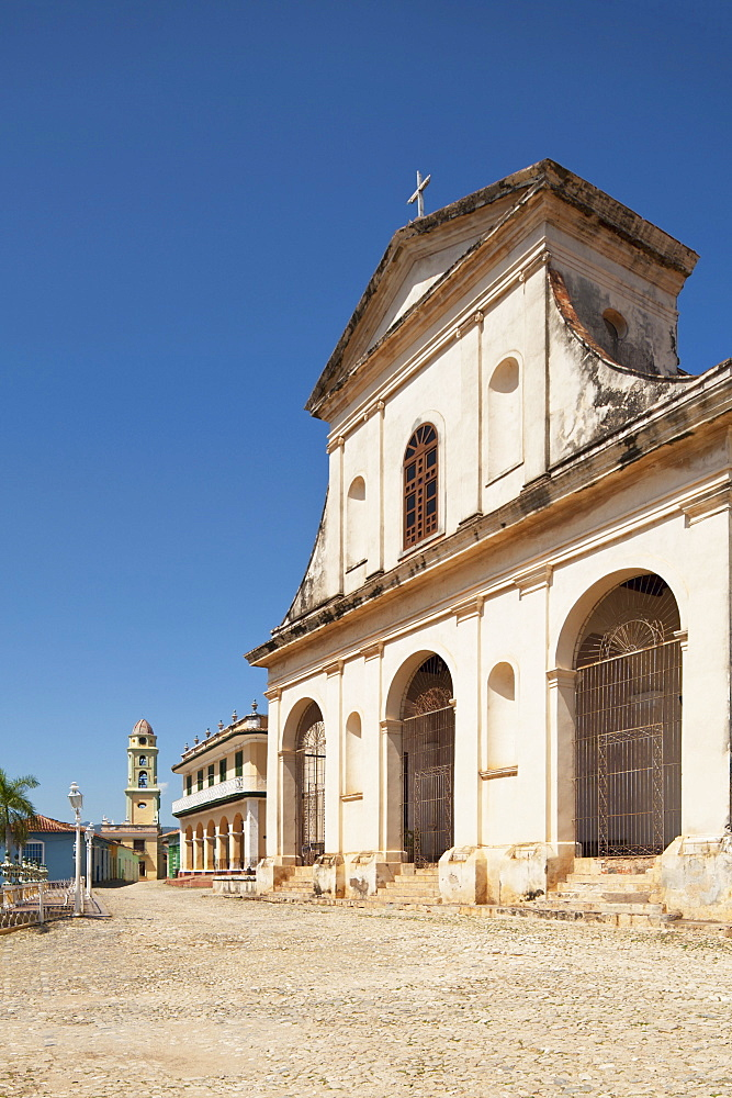 Iglesia Parroquial De La Santisima Trinidad (Church Of The Holy Trinity), The Largest Church In Cuba; Trinidad, Cuba