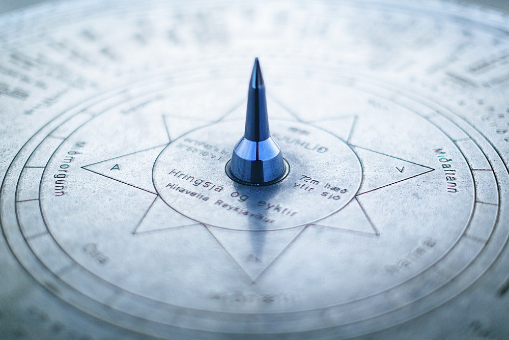 Detail of compass