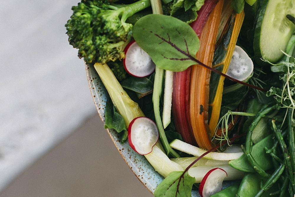 Close up vegetable salad - 1177-3835