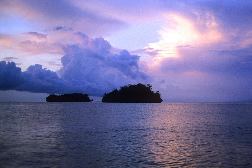 Cloudscape over the sea, Bismarck Sea, Papua New Guinea