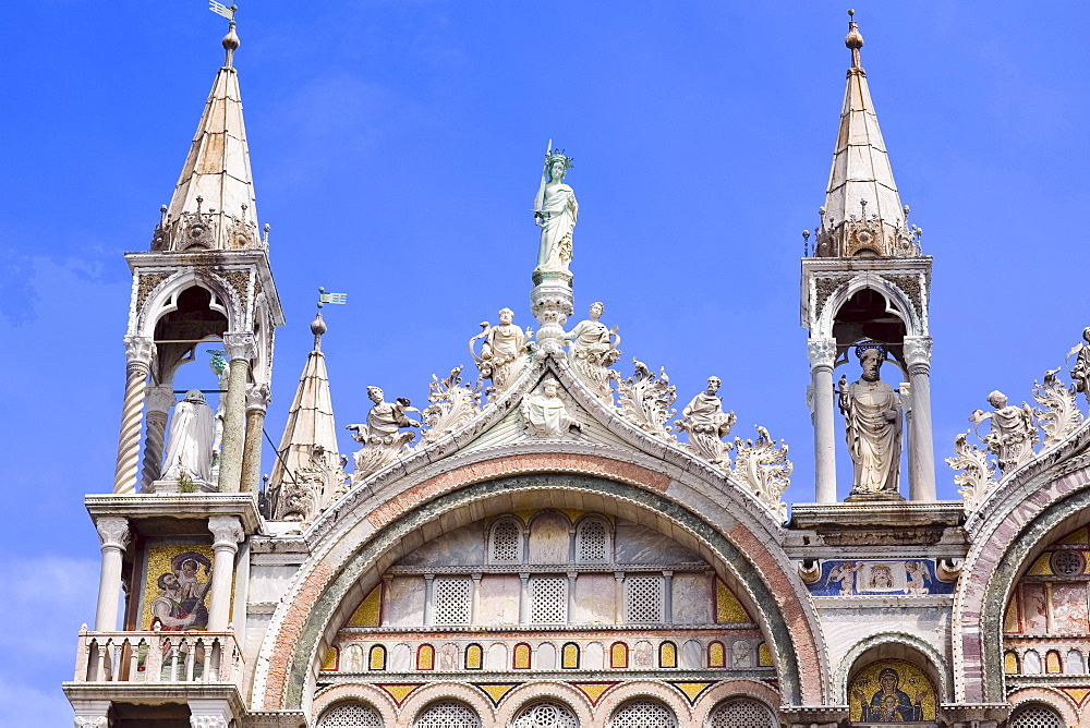 High section view of a cathedral, St. Mark's Cathedral, Venice, Italy