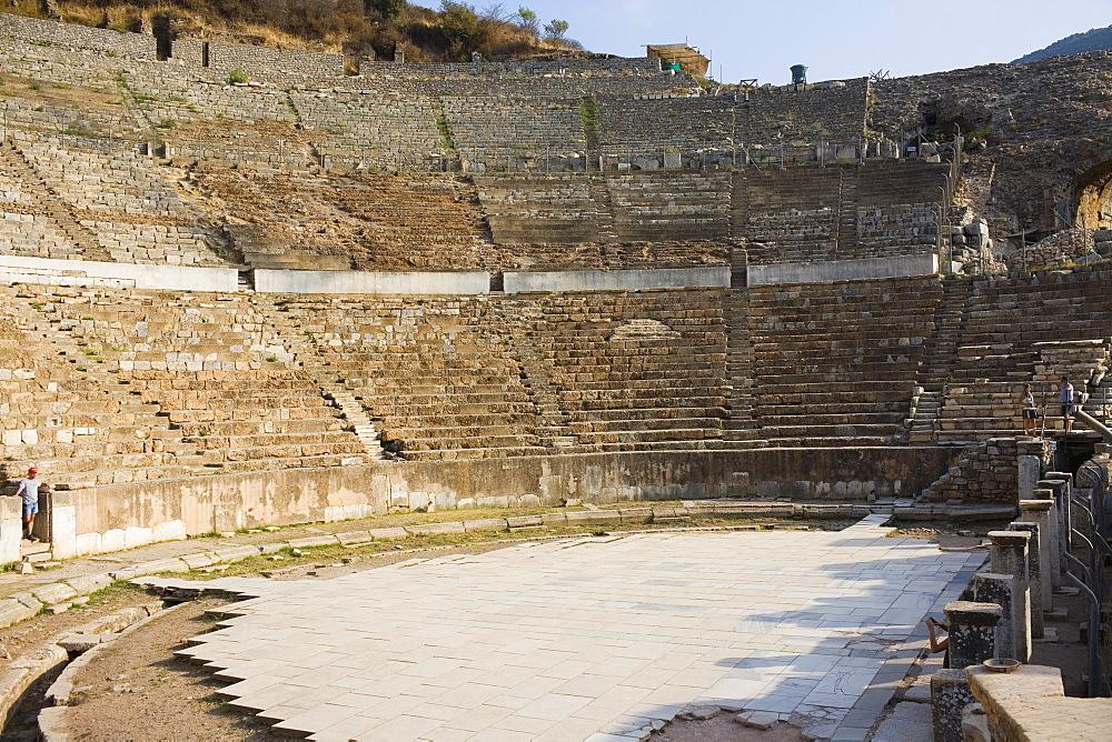 Old ruins of an amphitheater, Ephesus, Turkey