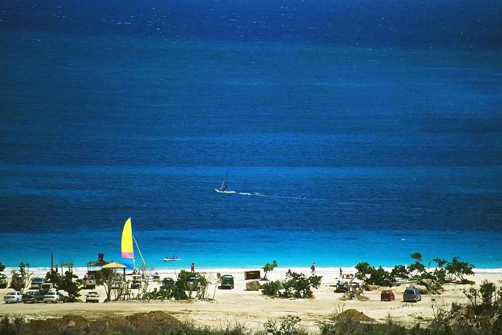Spectacular seascape , St. Martin, Leewards Islands, Caribbean