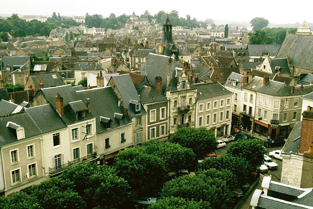 Spectacular cityscape, Amboise, France