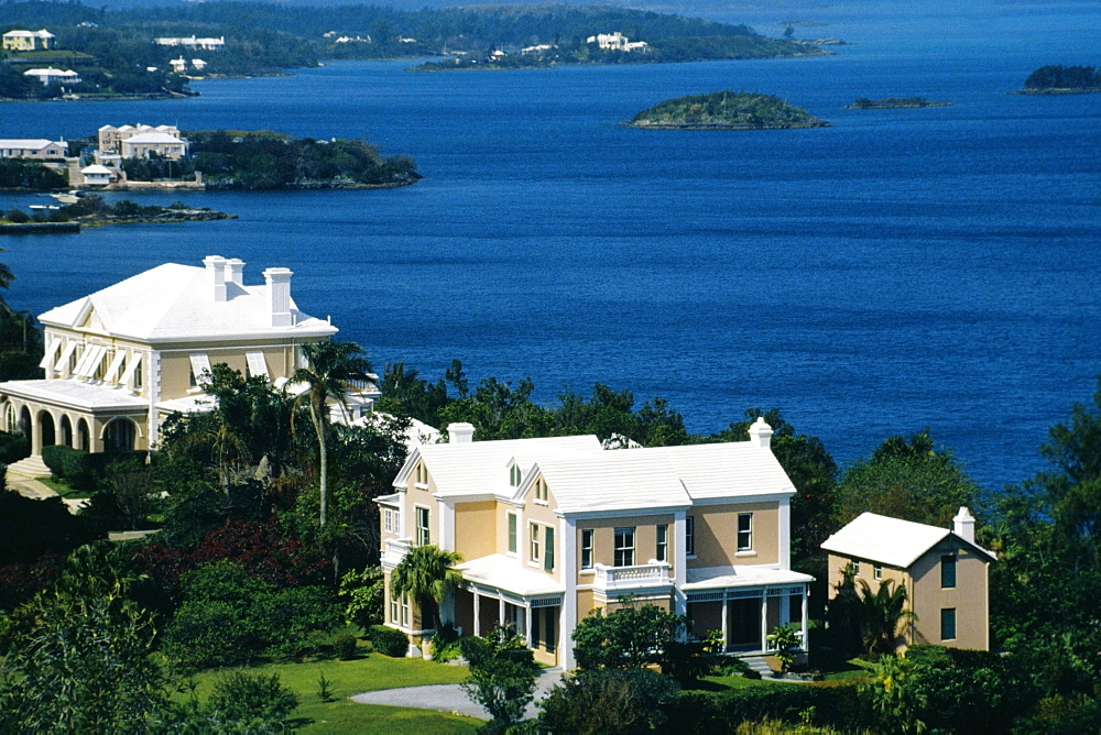 View of Hamilton from Paget, Bermuda