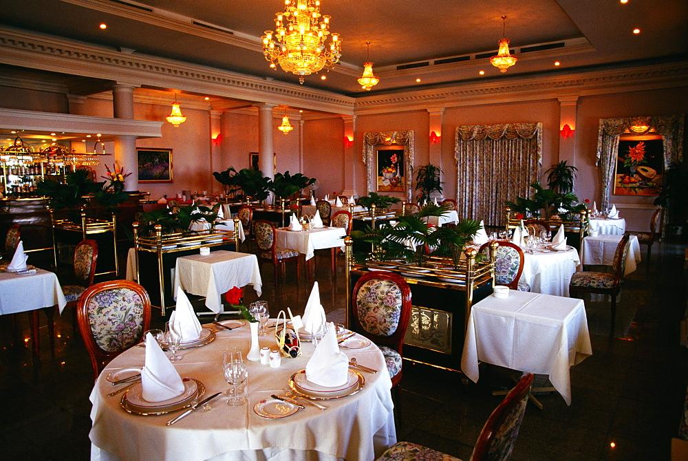 French restaurant, Majestic Hotel, Ho Chi Minh City (formerly Saigon) Vietnam