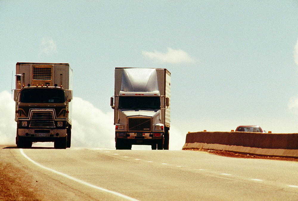 Traffic on New Mexico highway