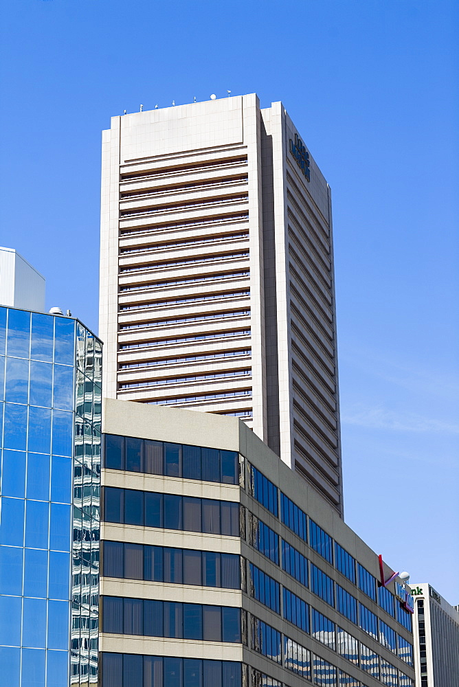 Low angle view of a building, World Trade Center, Baltimore, Maryland, USA