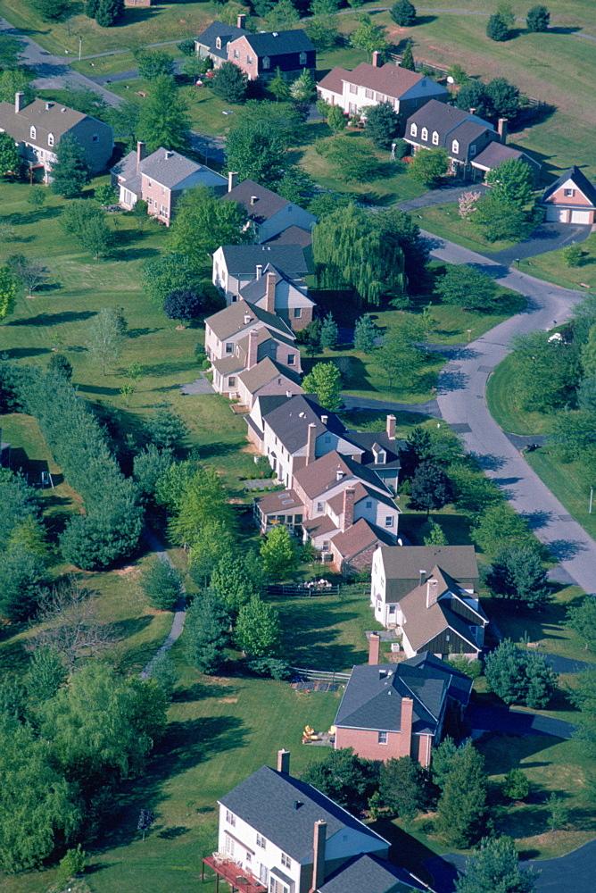 Housing development in suburban Maryland