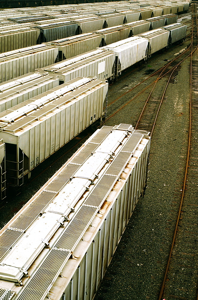 Freight cars in Baltimore, MD