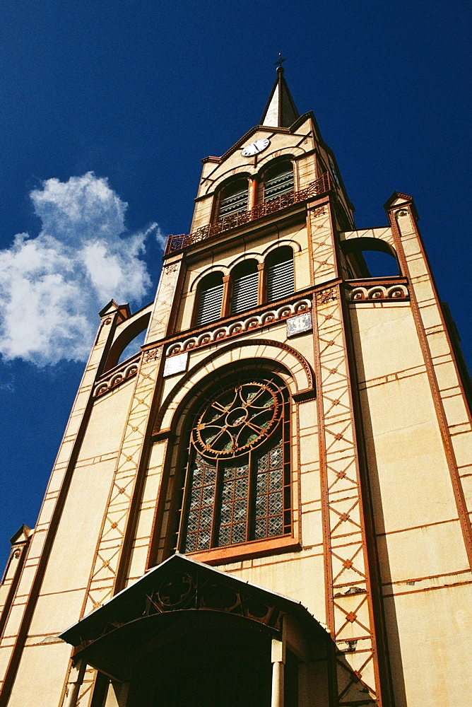 A cathedral is seen in Fort de France on the island of Martinique