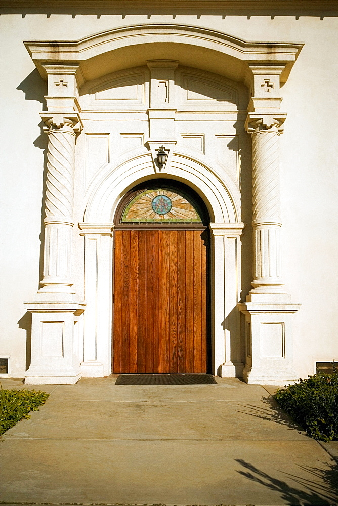 Facade of the Church of the Immaculate Conception, San Diego, California, USA