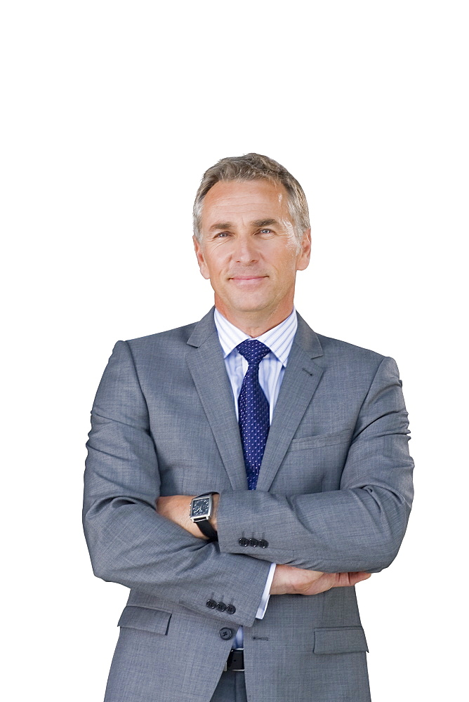 Cut Out Of Middle Aged Male Executive