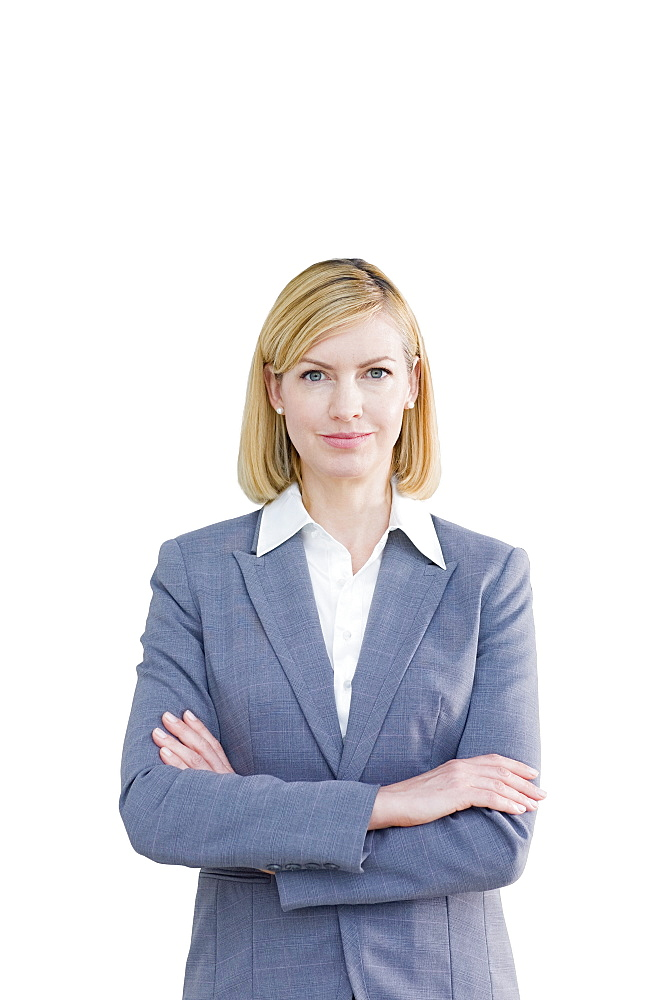 Cut Out Of Middle Aged Female Executive