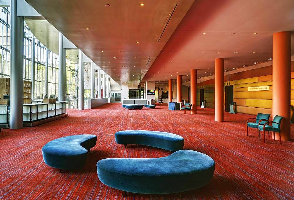 A large open space in a hospitality or business venue, conference centre hotel, public space. - 1174-10046