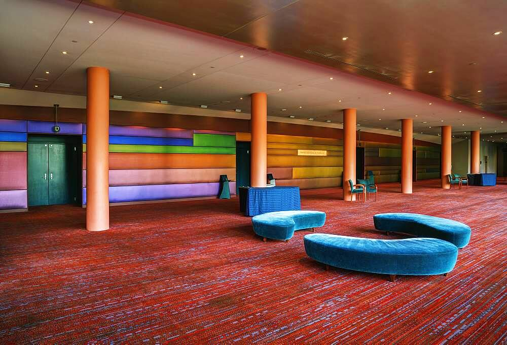 A large open space in a hospitality or business venue, conference centre hotel, public space. - 1174-10047