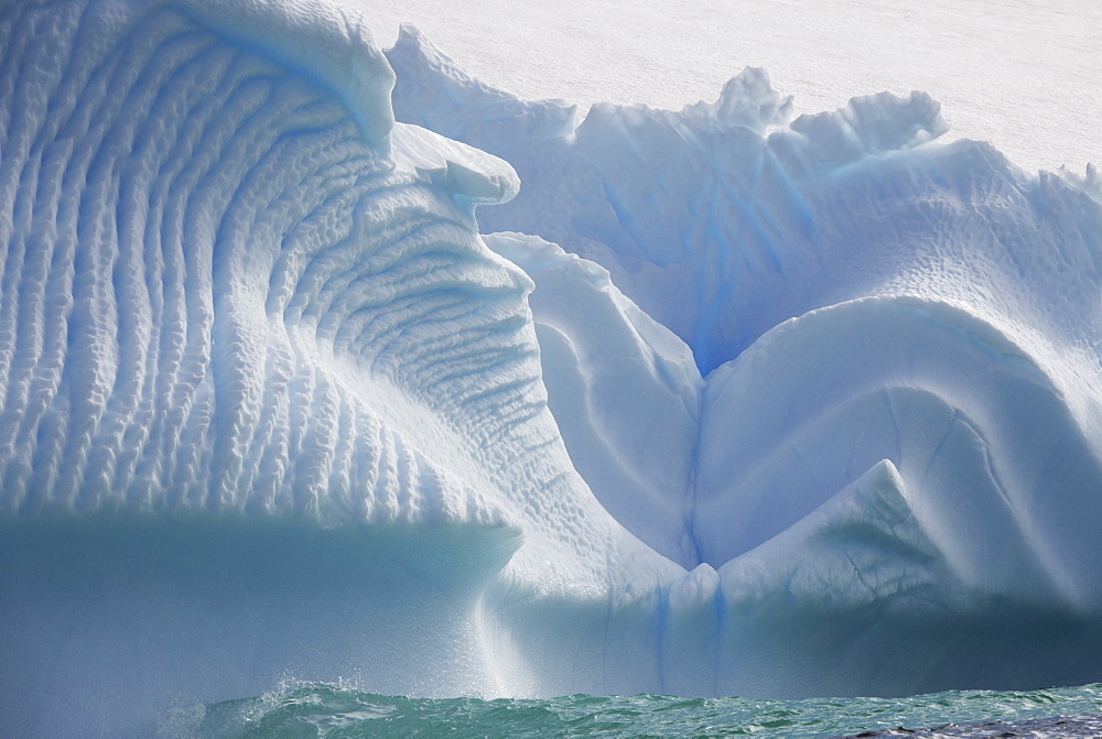 Iceberg along the Antarctic Peninsula, Antarctica