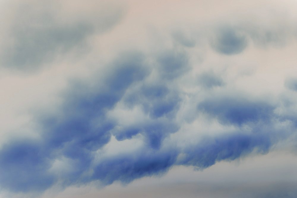 Abstract of overcast sky and storm clouds.