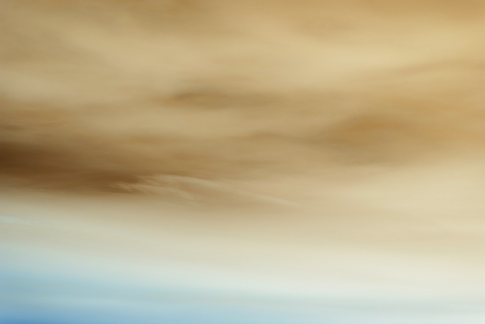 Abstract of overcast sky at dusk.