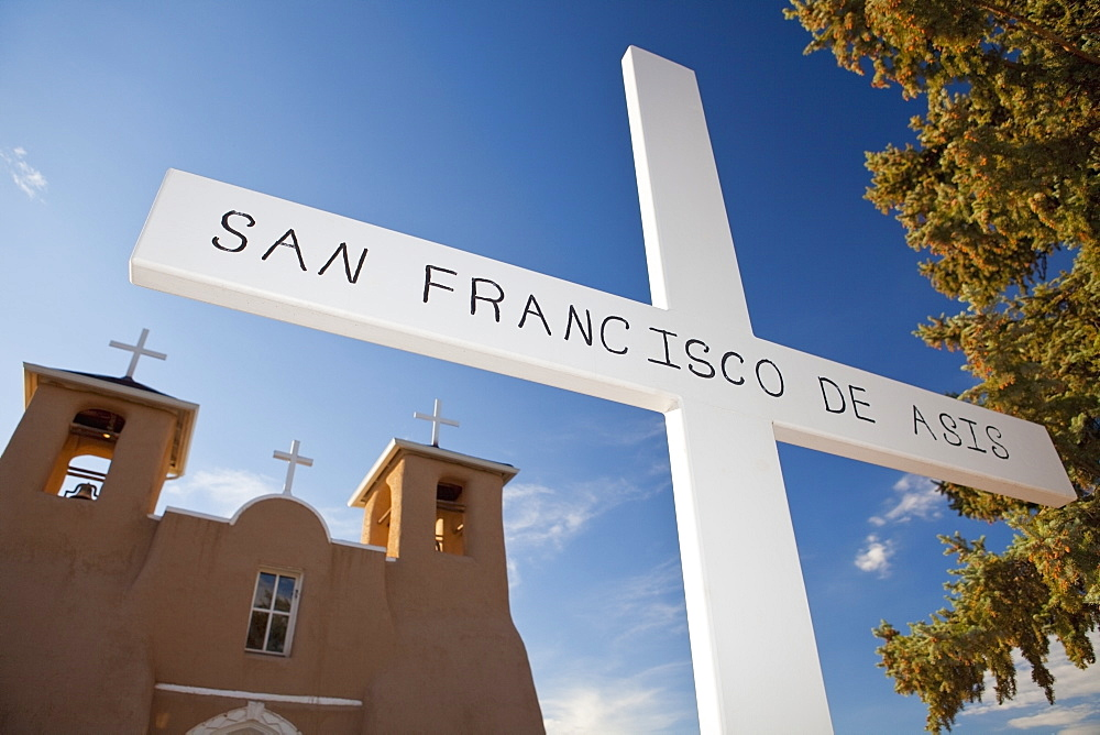 San Francisco de Asis Mission Church, Ranchos de Taos, New Mexico, United States of America