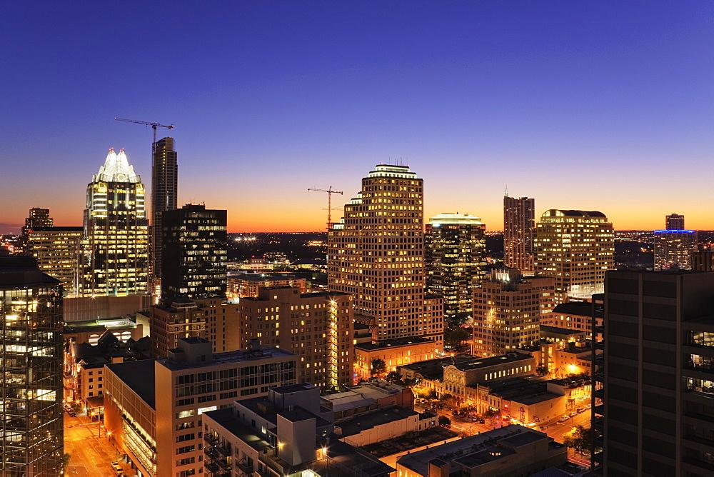 City Skyline, Austin, Texas, United States of America