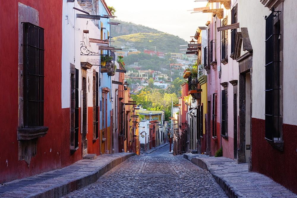Old World Street, San Miguel de Allende, Guanajuato, Mexico