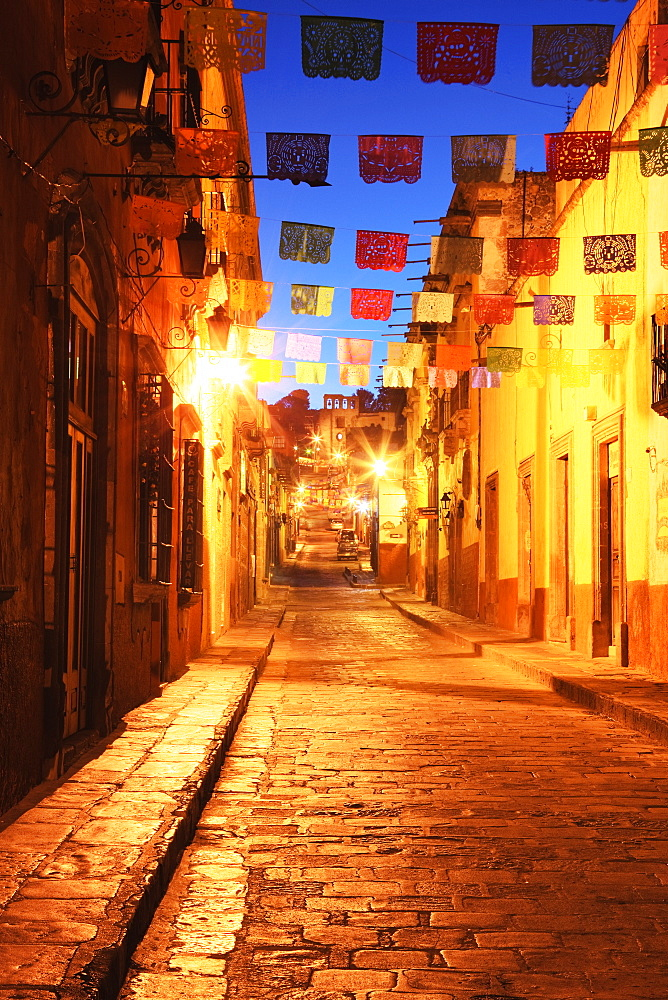 Decorated Streets, San Miguel de Allende, Guanajuato, Mexico