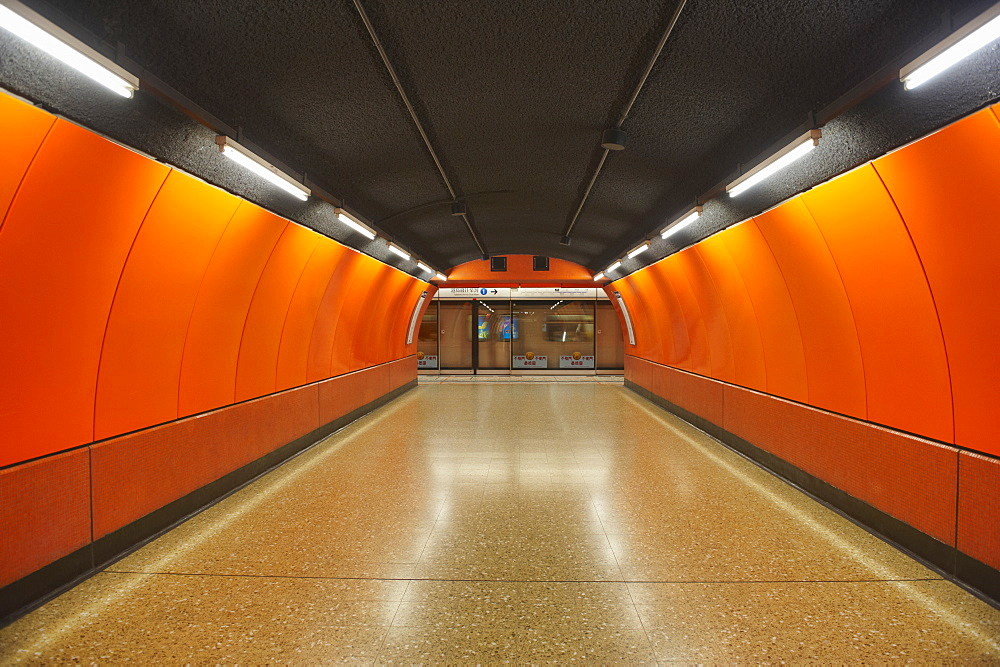 Underground Metro System, Hong Kong, China