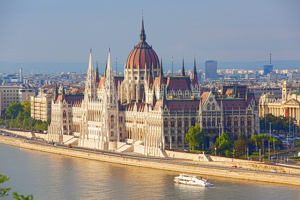 Old World City, Budapest, Hungary