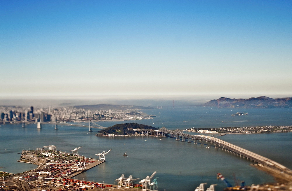 San Francisco Bay and Downtown, San Francisco, California, United States of America