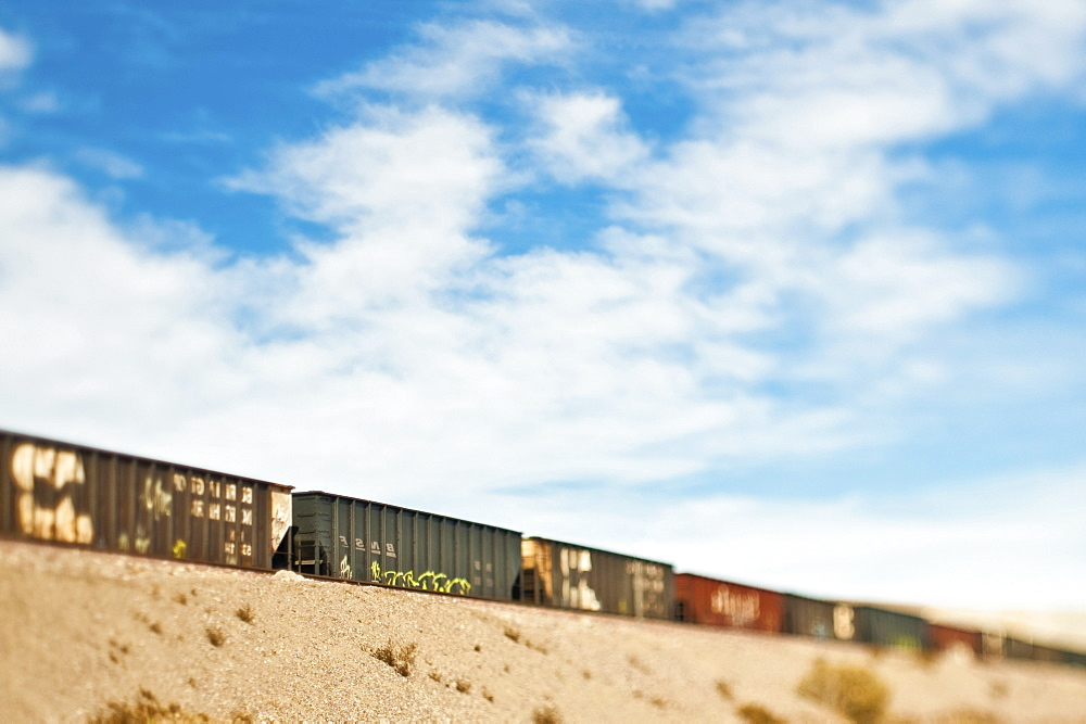 Railroad Cars, Mojave, California, United States of America