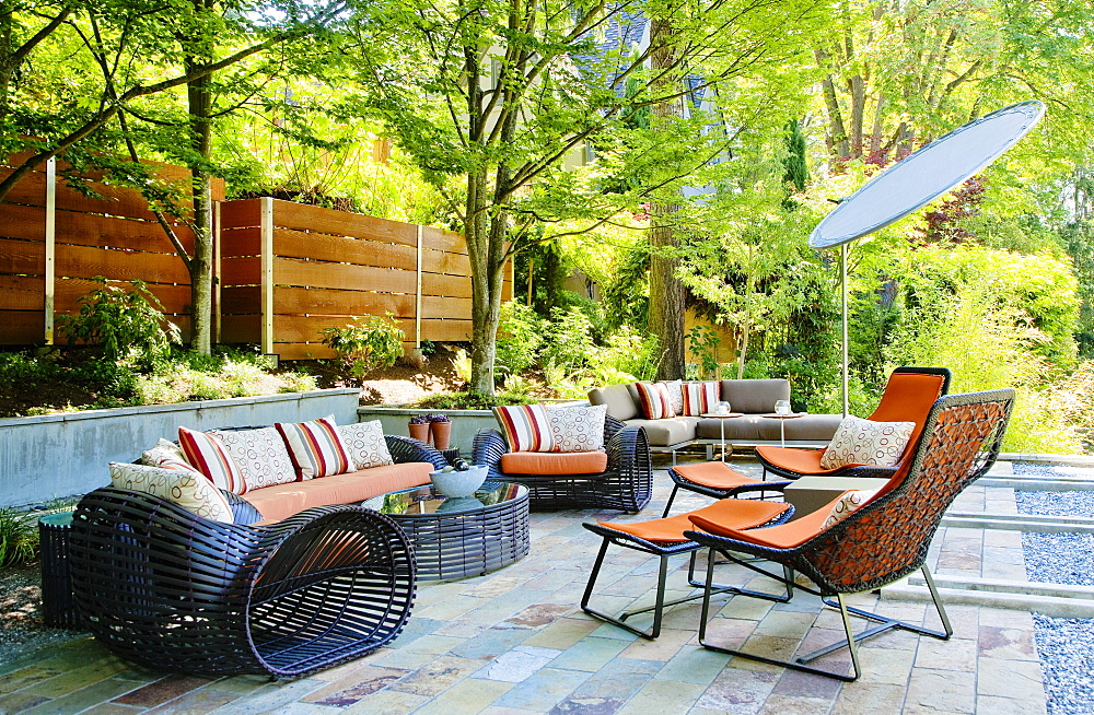 Patio living room, Seattle, Washington, United States of America