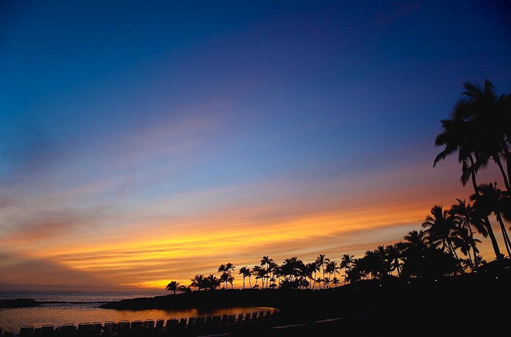 Hawaiian Beach at Sunset, Kapolei, HI, United States of America