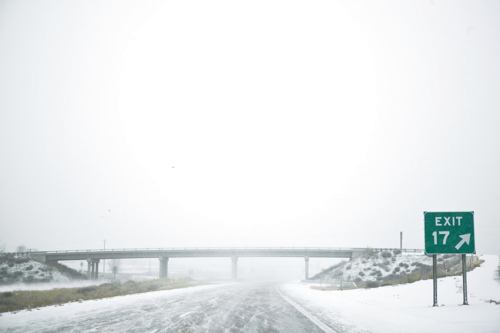Snowy Highway, Idaho, United States of America