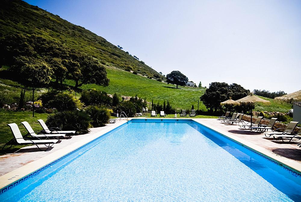 Hotel Pool, Antequera, Andalucia, Spain