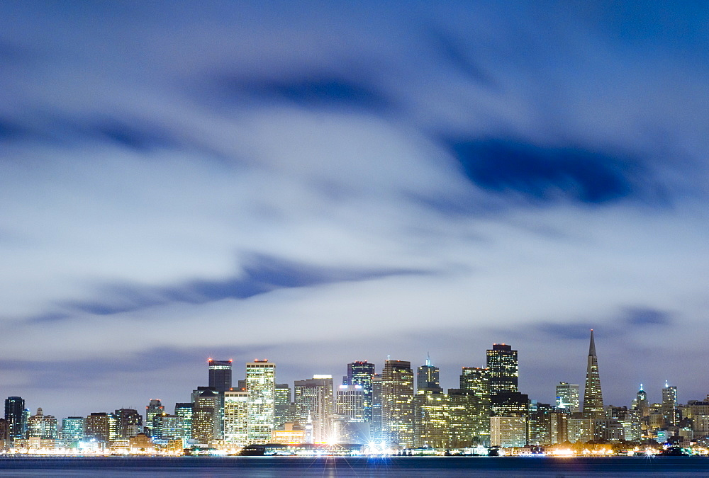 San Francisco Skyline from Treasure Island, San Francisco, California, United States of America
