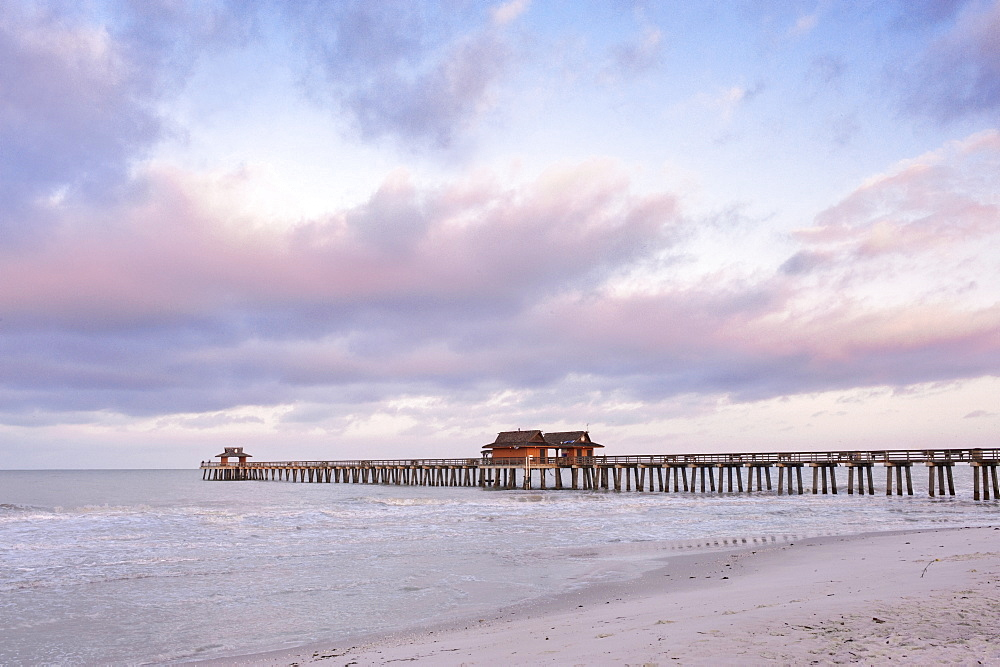 Naples Pier at Dawn, Naples, Florida, United States of America